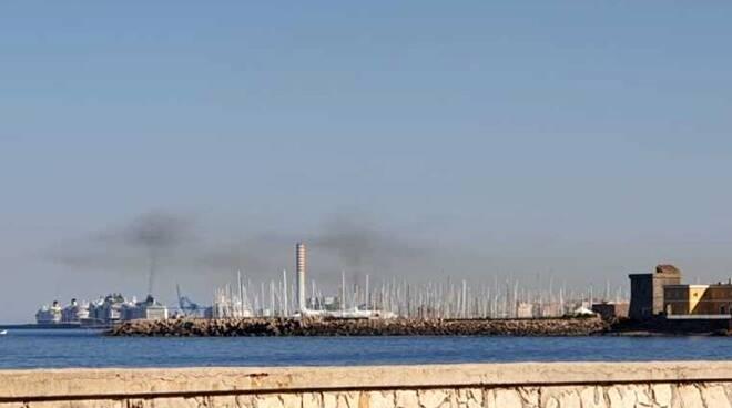 emissioni porto di Civitavecchia