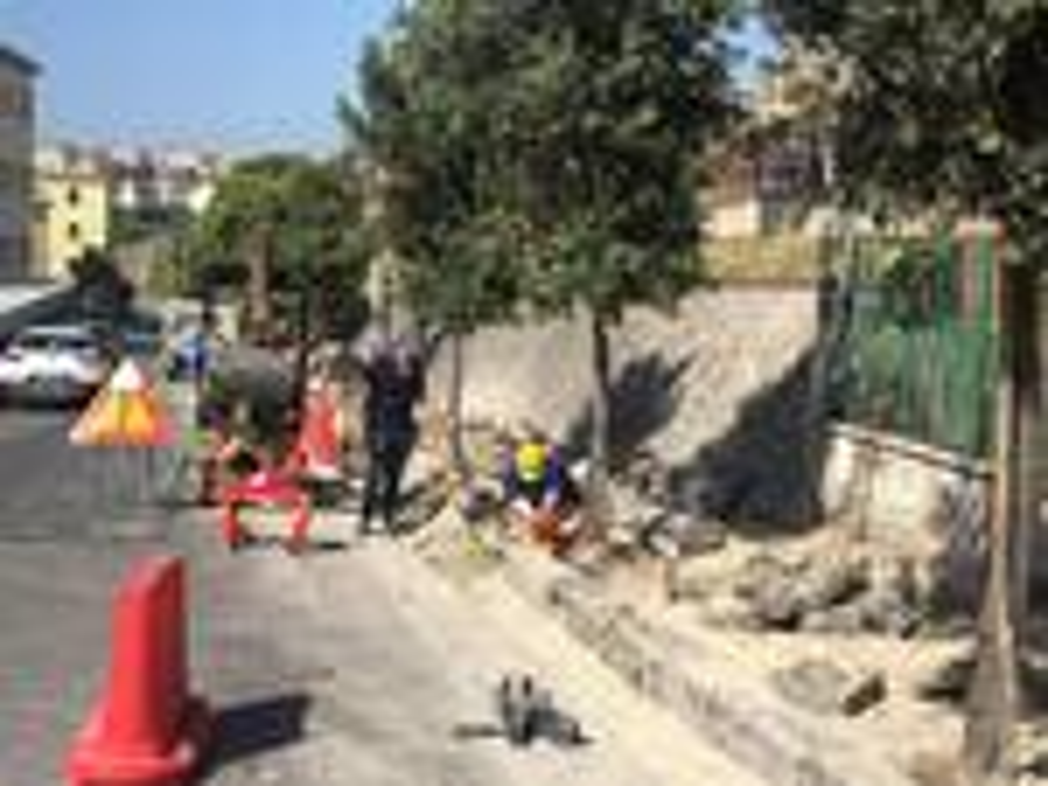 Formia, al via i lavori di messa in sicurezza del marciapiede che porta alla stazione ferroviaria