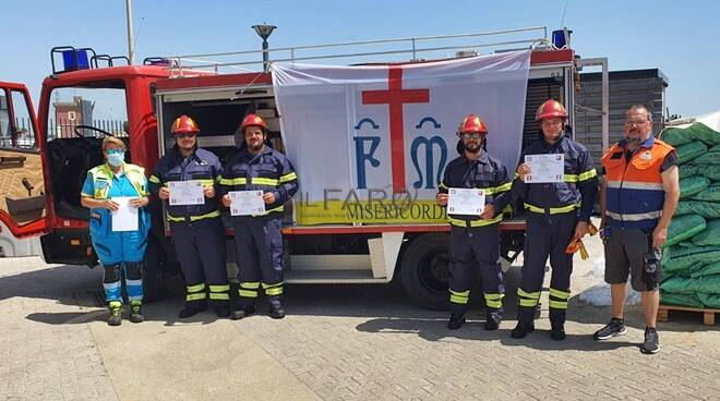 misericordia protezione civile antincendio
