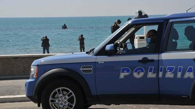 polizia di stato ostia mare