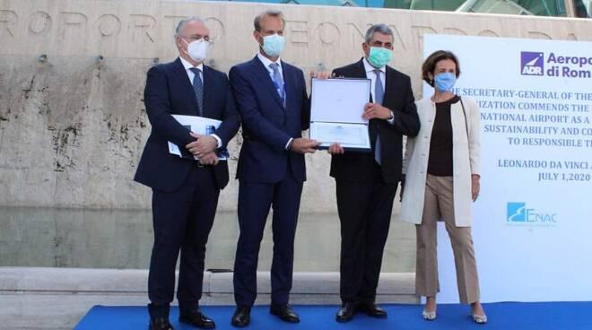 premiazione Leonardo da vinci Fiumicino