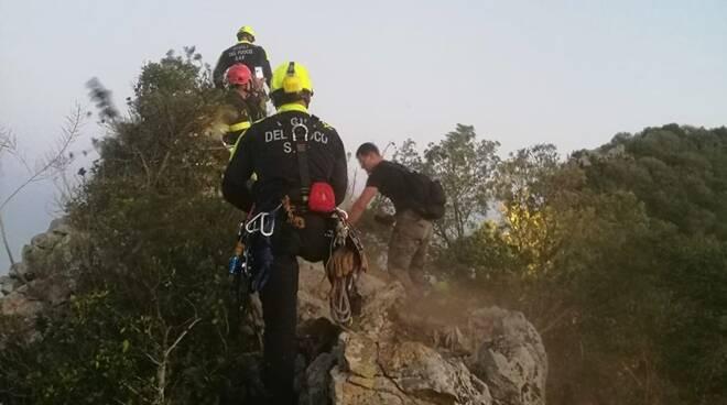 salvataggio escursionista circeo