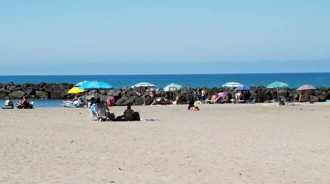 spiaggia fiumicino