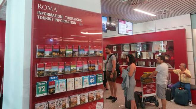 Tourist Info Point aeroporto fiumicino