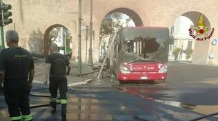 Atac in fiamme - Roma
