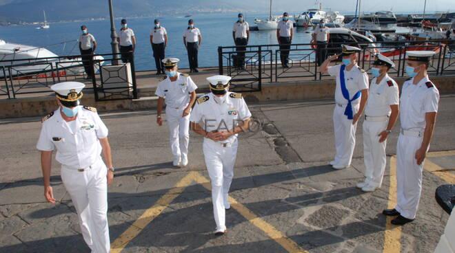 Il direttore marittimo del Lazio visita i colleghi di Gaeta