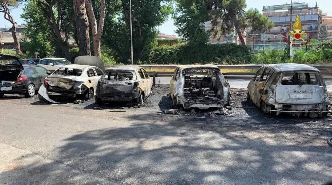 incendio Ostia