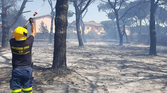 incendio pienta torvaianica