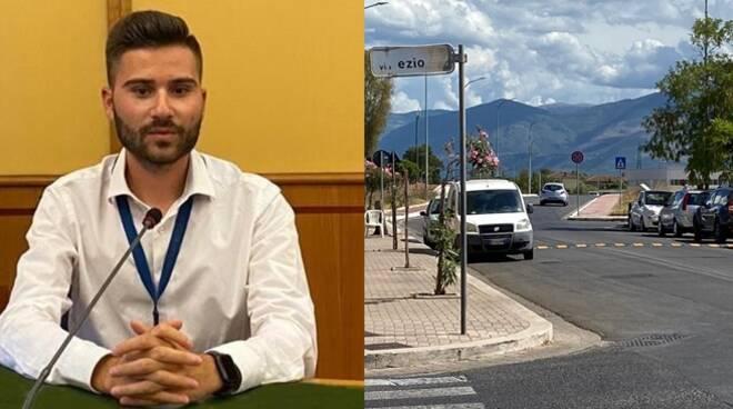 Installazione dei dossi in via dei Volsci a Latina, la soddisfazione della Lega giovani