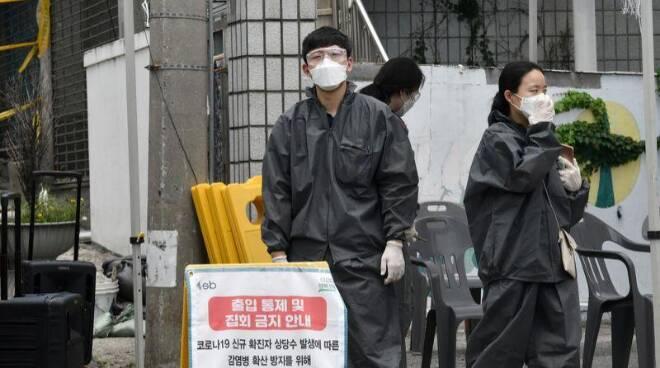 manifestazione Corea del Sud