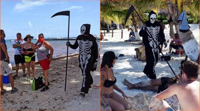 morte spiaggia
