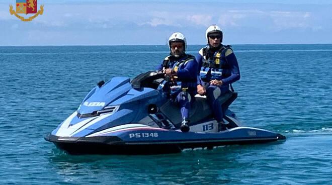 moto acqua polizia