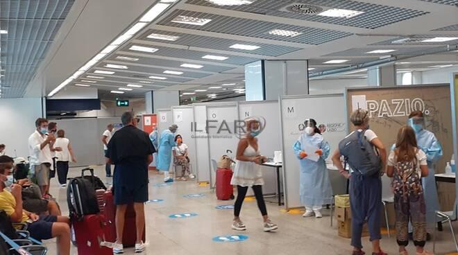 test rapidi aeroporto fiumicino covid-19