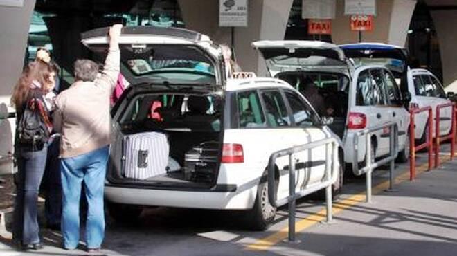 aeroporto fiumicino taxi