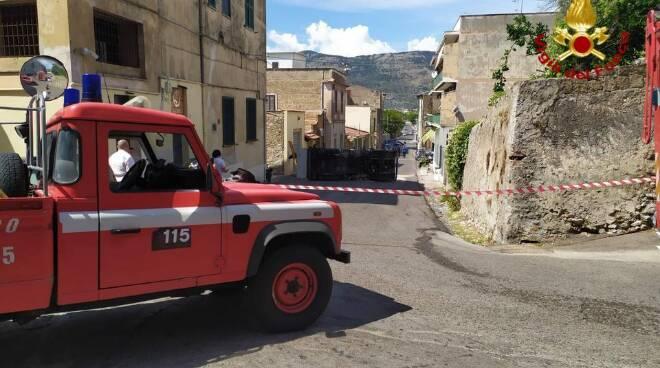 Autocisterna ribaltata Terracina