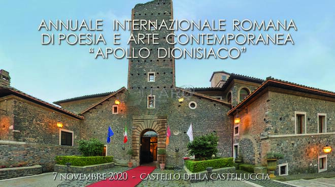 Poesia e Arte dal mondo. Apollo dionisiaco Roma 2020 celebra il senso della bellezza.