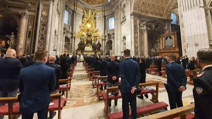 festa san michele arcangelo polizia di stato vaticano