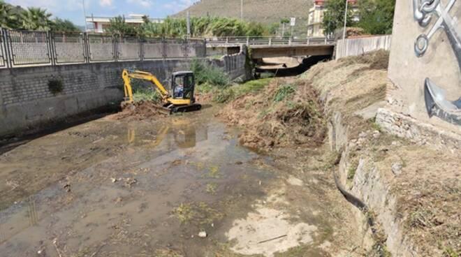 """Il Sindaco di Formia: """"Al via la pulizia del torrente Pontone"""""""