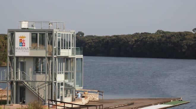 inaugurazione torre di arrivo canottaggio
