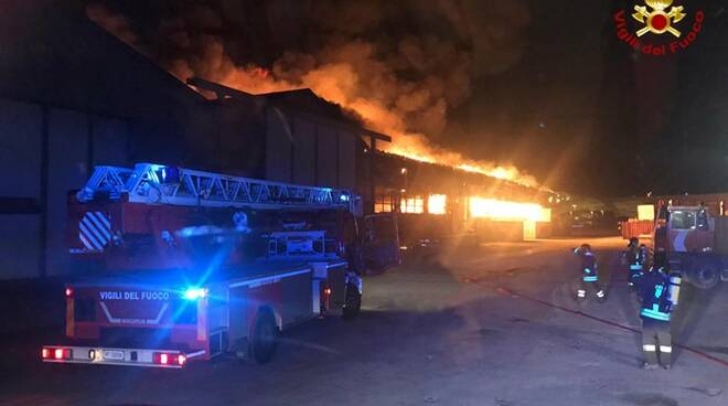 incendio porto ancona
