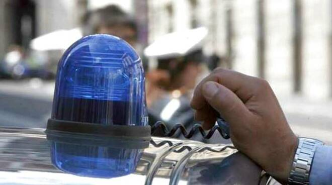 lampeggiante polizia