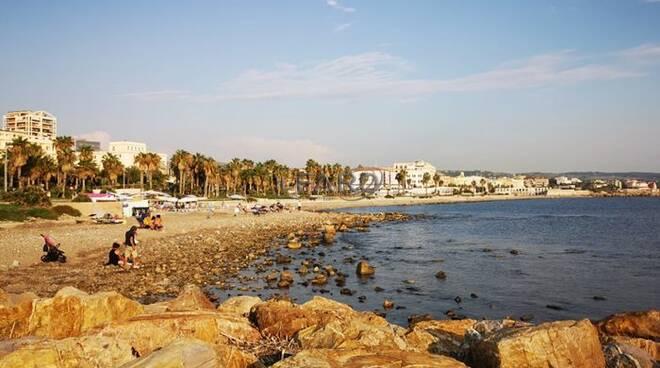 lungomare spiaggia civitavecchia