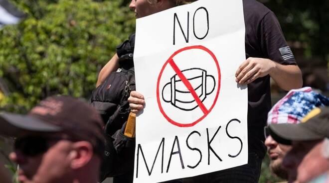 Negazionisti covid-19 - No Masks