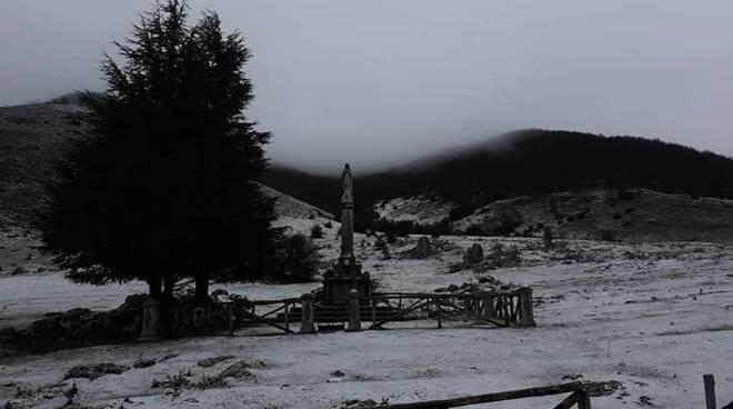 neve nel Lazio