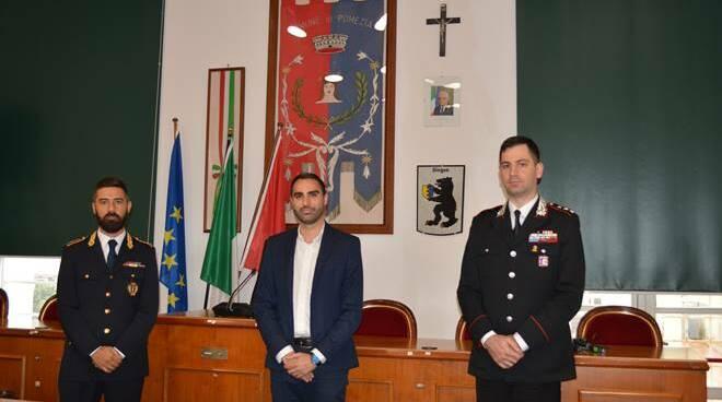 Nuovo comandante carabinieri Pomezia