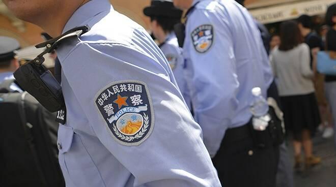 polizia cina