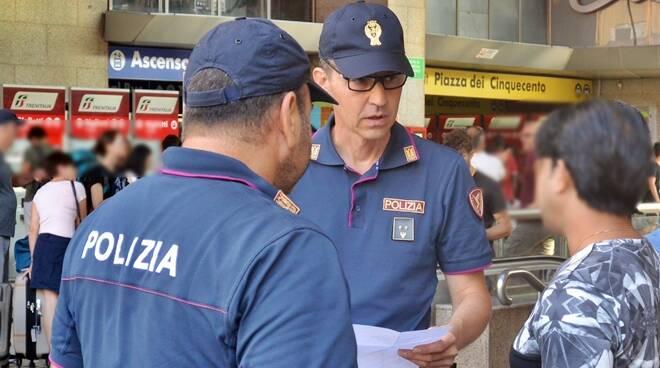 polizia stazione termini