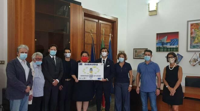 """Sabaudia candidata come """"Comune europeo dello sport"""" 2022"""