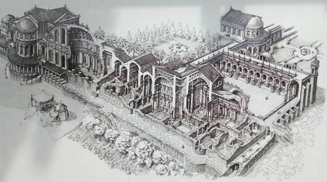 Sabaudia sorprende ancora: dalla villa di Domiziano riemersa colonna d'epoca imperiale