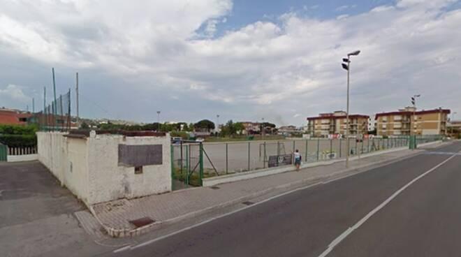 Scauri, campo sportivo Pirae