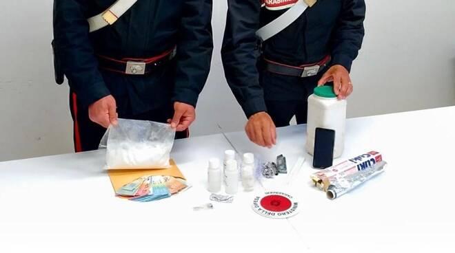 sequestro droga carabinieri ladispoli