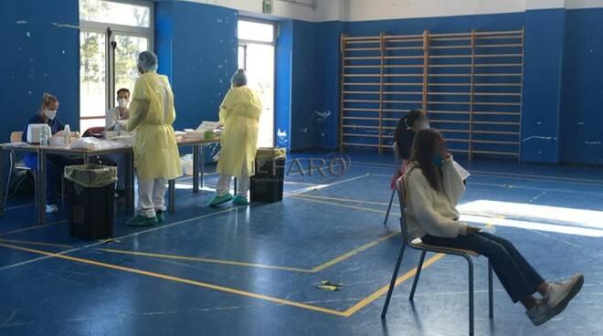 test coronavirus scuola fiumicino