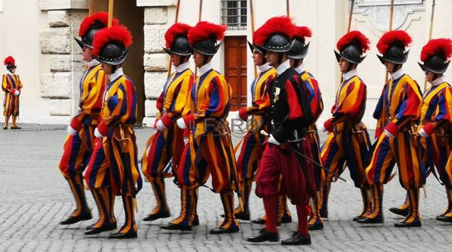 vaticano guardia svizzera