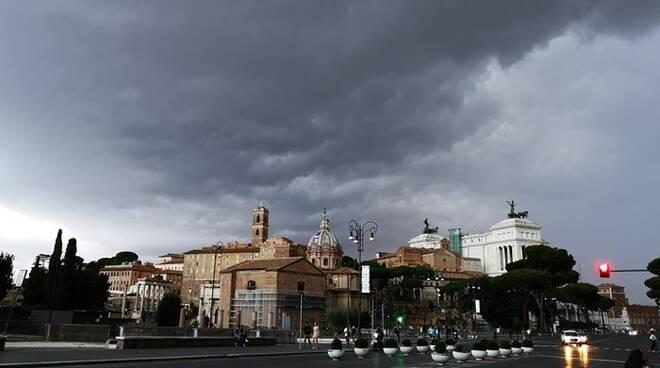 allerta meteo maltempo roma