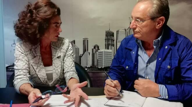 Anna D'Auria e Gino Scafetta
