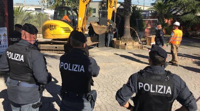 blitz Polizia Casamonica