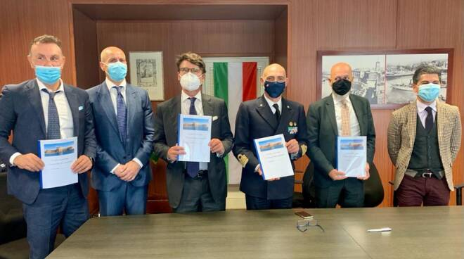 """Civitavecchia Blue Agreement"""