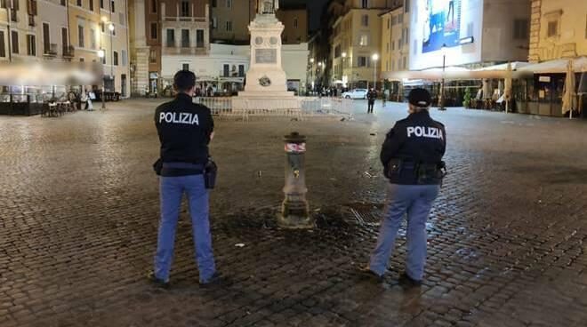 controlli movida coprifuoco polizia di stato roma