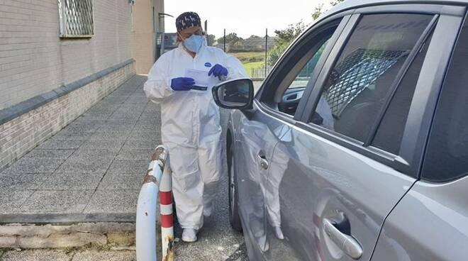 drive in coronavirus