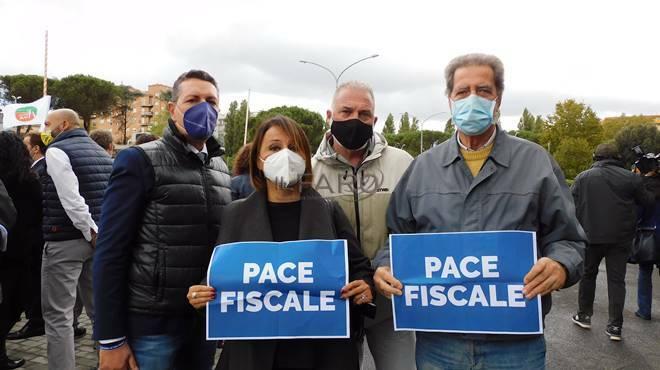 flash mob lega agenzia entrate roma