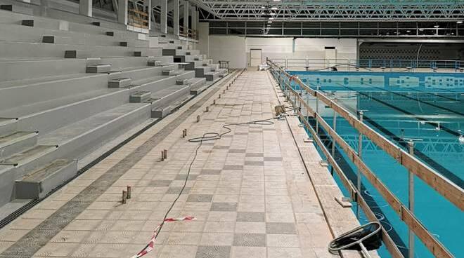 lavori piscina comunale anzio
