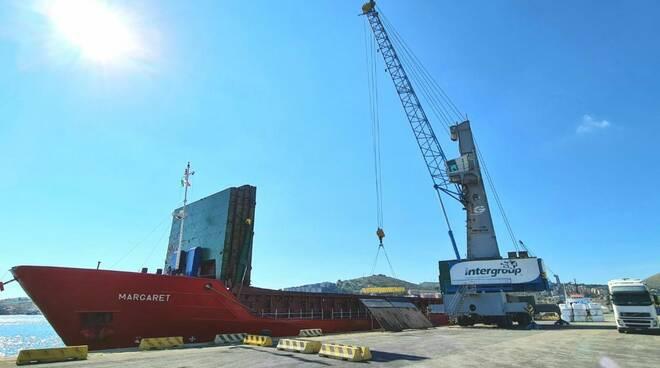 nave Margaret porto Gaeta