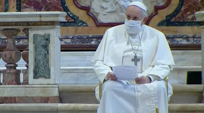 papa francesco incontro ecumenico ara coeli pace