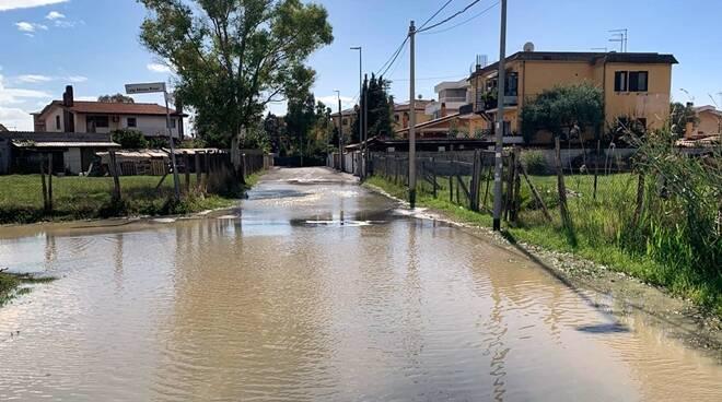 perdita acqua via gaspare oliverio saline