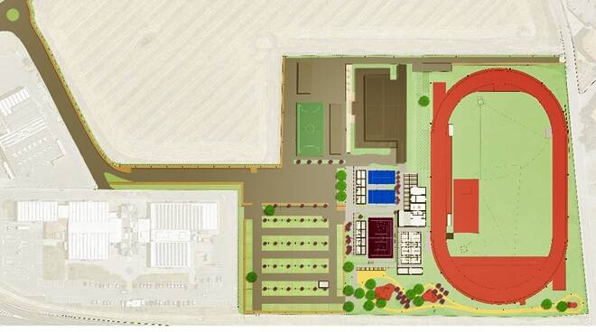 progetto centro polisportivo il giglio tarquinia