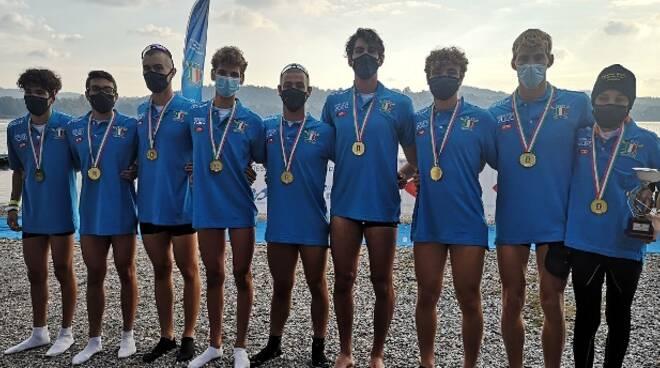 SUPERCAMPIONATO CANOTTAGGIO FIAMME GIALLE